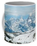 Snowy Tetons Coffee Mug