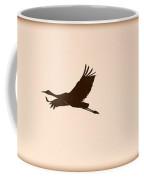 Soaring Sandhills Silhouette Coffee Mug