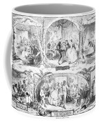 Social Activities, 1861 Coffee Mug by Granger