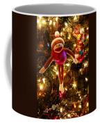 Sock Monkey Is In The Season Coffee Mug