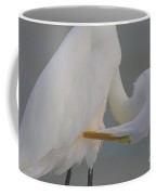 Soft Egret Glow Coffee Mug
