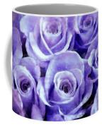 Soft Lavender Roses Coffee Mug