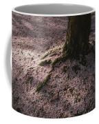 Soft Light On A Pink Carpet Of Fallen Coffee Mug by Stephen St. John