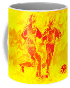 Solar Soccer Coffee Mug by Stephen Younts