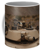 Soldier Looks Out The Main Hatch Coffee Mug