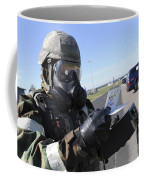 Soldier Uses An M256 Kit To Identify Coffee Mug
