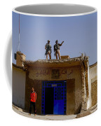 Soldiers Discuss The New Iraqi Police Coffee Mug by Stocktrek Images