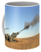 Soldiers Fire A 155mm M777 Lightweight Coffee Mug