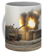 Soldiers Fire The Howitzers Coffee Mug