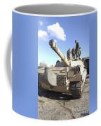 Soldiers Get Their Battletank Ready Coffee Mug