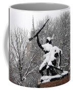 Soldiers In The Snow Coffee Mug