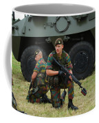 Soldiers Of An Infantry Unit Coffee Mug