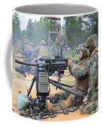 Soldiers Operate A Mk-19 Grenade Coffee Mug by Stocktrek Images