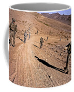 Soldiers Patrol To A Village Coffee Mug