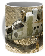 Soldiers Place Tnt Charges Coffee Mug