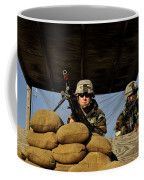 Soldiers Provide Security Coffee Mug