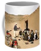 Soldiers Speak With School Teachers Coffee Mug