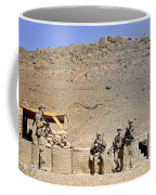 Soldiers Wait For Afghan National Coffee Mug