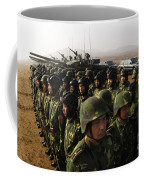 Soldiers With The Peoples Liberation Coffee Mug