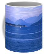 Solitary Sailing Coffee Mug