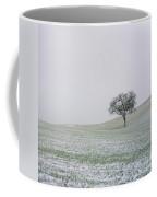 Solitary Tree In Winter Coffee Mug