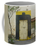 Somebody's Door Coffee Mug