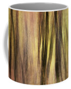 Sourwoods In Autumn Abstract Coffee Mug