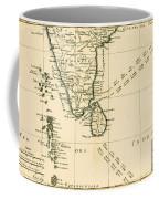 Southern India And Ceylon Coffee Mug