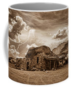 Southwest Indian Rock House And Lightning Striking Coffee Mug by James BO  Insogna