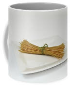 Soybean Spaghetti Coffee Mug by Photo Researchers