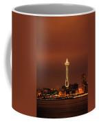 Space Needle Morning Coffee Mug