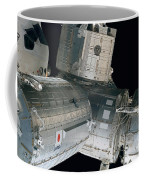 Space Shuttle Discovery And Components Coffee Mug