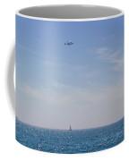 Space Shuttle Flyover Coffee Mug