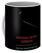 Space Travel Poster Coffee Mug