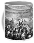 Spain: Bullfight, 1875 Coffee Mug