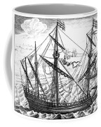 Spanish Ship, C1595 Coffee Mug
