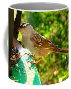 Sparrow In Morning Light  Coffee Mug