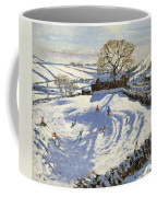Sparrowpit Derbyshire Coffee Mug by Andrew Macara