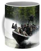Special Forces In A High-speed Combat Coffee Mug