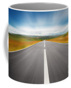 Speedyway Coffee Mug by Carlos Caetano