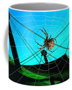 Spider On The Olympic Roof Coffee Mug
