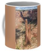 Spider Rock - Canyon De Chelly Coffee Mug