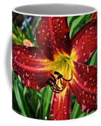 Spiderman The Day Lily Coffee Mug