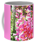 Spikes Of Pink Foxgloves Coffee Mug