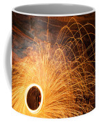 Spinning Fire Coffee Mug