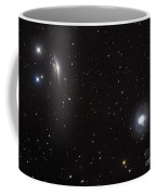 Spiral Galaxies Ngc 1068 And Ngc 1055 Coffee Mug