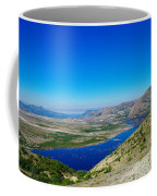 Spirit Lake From Windy Point  Coffee Mug