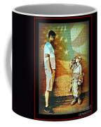 Spirit Of Freedom - Soldier And Son Coffee Mug