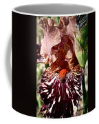 Splattered Iris Coffee Mug