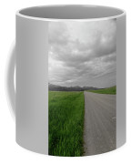 Split Line Coffee Mug by Roderick Bley